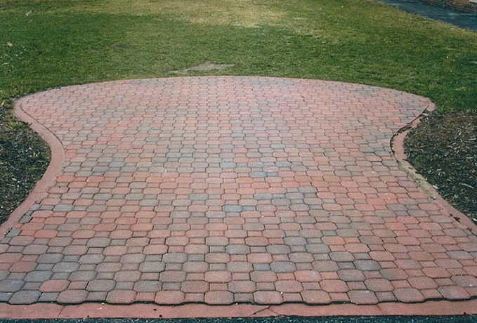Patio and Walkways: Updated with New Paver Style Walkway