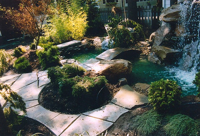 Water Features, Walls & Fountains: Backyard Oasis